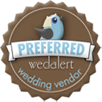 Preferred WedAlert wedding vendor